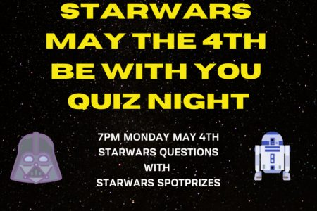 Starwars May The 4 Th Be With You Quiz Night